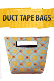 Duct Tape Bags! book