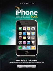 The iPhone Book, Third Edition (Covers iPhone 3GS, iPhone 3G, and iPod Touch) Book Cover
