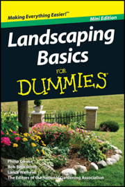 Landscaping Basics For Dummies, Mini Edition book