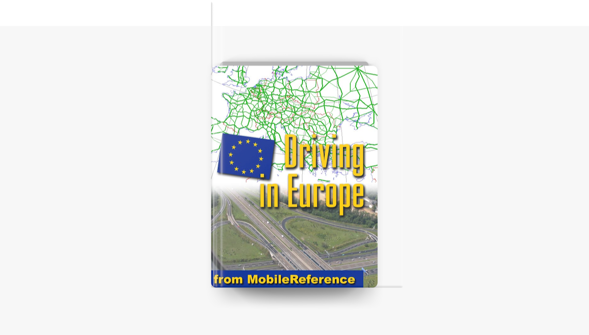 Driving in Europe - MobileReference