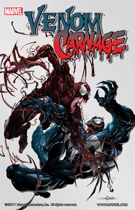 Venom vs. Carnage Libro Cover