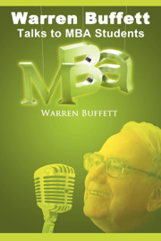Warren Buffet talks to MBA students