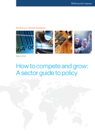 How to Compete and Grow: a Sector Guide to Policy book