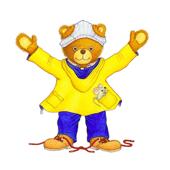 Zieh dich an, kleiner Bär! (Buch + Extras)