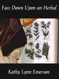 Face Down upon an Herbal book