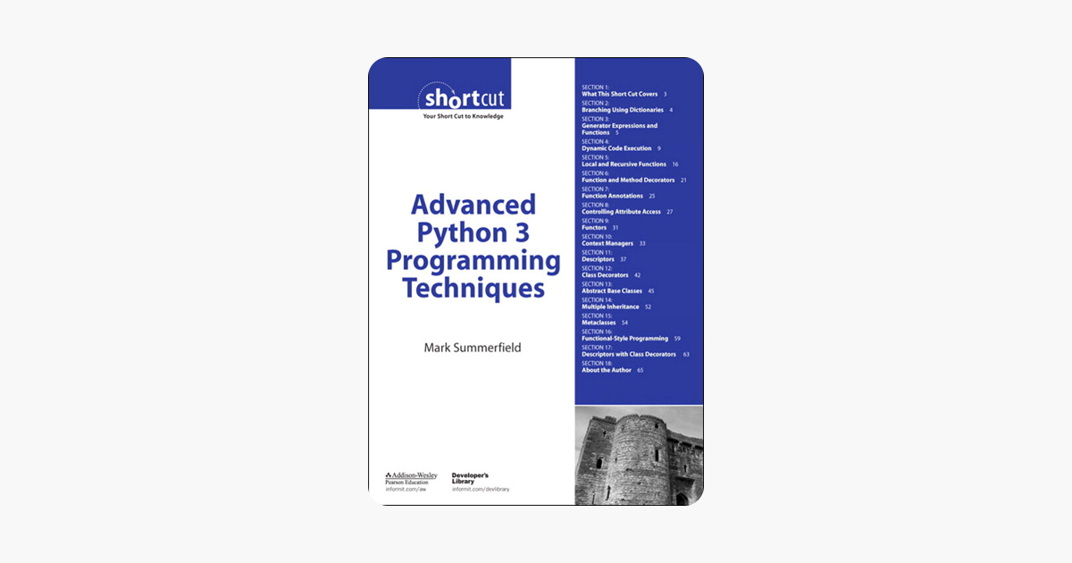 Advanced Python 3 Programming Techniques