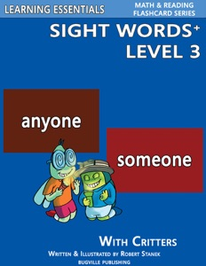 Sight Words Plus Level 3: Sight Words Flash Cards with Critters for Grade 1 & Up