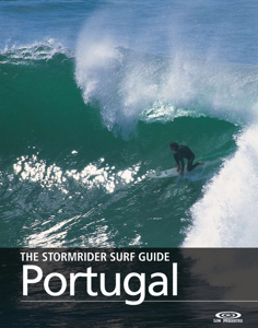The Stormrider Surf Guide Portugal La couverture du livre martien