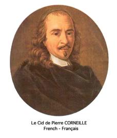 Le Cid de CORNEILLE (French, Français)
