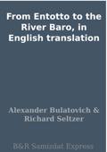 From Entotto to the River Baro, in English translation