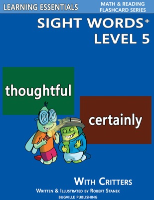 Sight Words Plus Level 5: Flash Cards with Critters for Grade 3 & Up