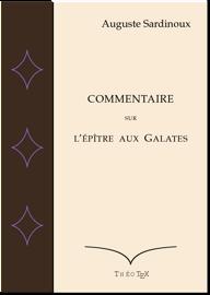 Commentaire sur l'epître aux Galates