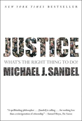 Justice - Michael J. Sandel book