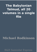 The Babylonian Talmud, all 20 volumes in a single file
