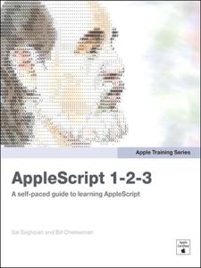 AppleScript 1-2-3 La couverture du livre martien