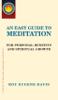 Roy Eugene Davis - An Easy Guide to Meditation artwork