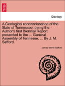 A Geological reconnoissance of the State of Tennessee; being the Author's first Biennial Report presented to the ... General Assembly of Tennesse. ... By J. M. Safford.