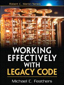 Working Effectively with Legacy Code Boekomslag