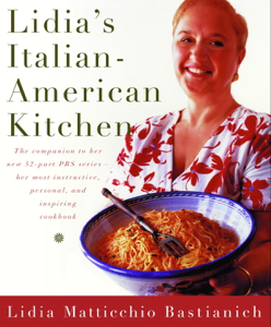 Lidia's Italian-American Kitchen Book Cover
