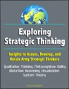 Exploring Strategic Thinking Insights To Assess Develop And Retain Army Strategic Thinkers - Qualitative Thinking Metacognitive Ability Abductive Reasoning Visualization System Theory