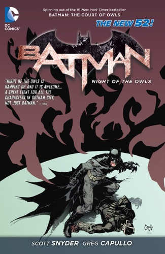 Batman: Night of the Owls - Judd Winick, David Finch, Peter J. Tomasi, Pat Gleason, Tony Daniel, Scott Lobdell, Duane Swierczynski, J.H. Williams III & Jimmy Palmiotti - Judd Winick, David Finch, Peter J. Tomasi, Pat Gleason, Tony Daniel, Scott Lobdell, Duane Swierczynski, J.H. Williams III & Jimmy Palmiotti