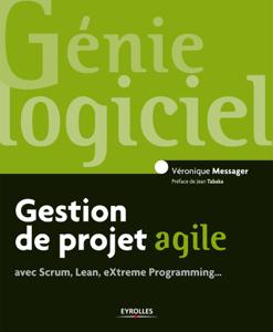 Gestion de projet agile La couverture du livre martien