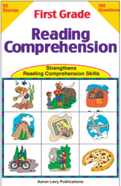 First Grade Reading Comprehension book