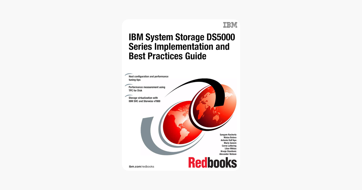 IBM System Storage DS5000 Series Implementation and Best Practices