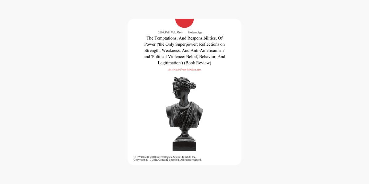 Belief, Behavior, and Legitimation