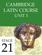 Cambridge Latin Course (4th Ed) Unit 3 Stage 21