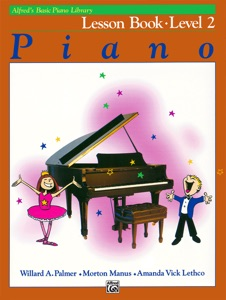 Alfred's Basic Piano Library - Lesson 2 Book Cover