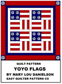 Quilt Pattern - Yo-Yo Flags
