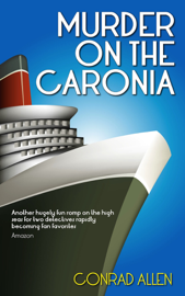 Murder On the Caronia book