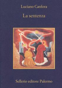 La sentenza Copertina del libro