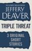 Jeffery Deaver - Triple Threat artwork