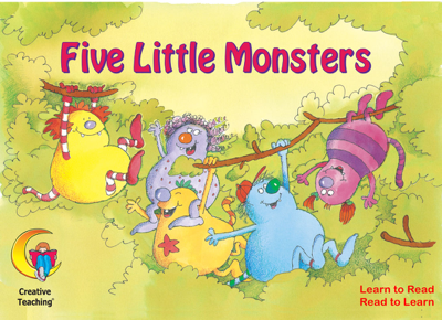 Five Little Monsters (Enhanced eBook) - Rozanne Lanczak Williams book