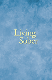 Living Sober book