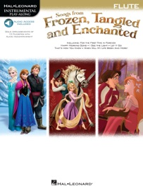 SONGS FROM FROZEN, TANGLED AND ENCHANTED - FLUTE SONGBOOK