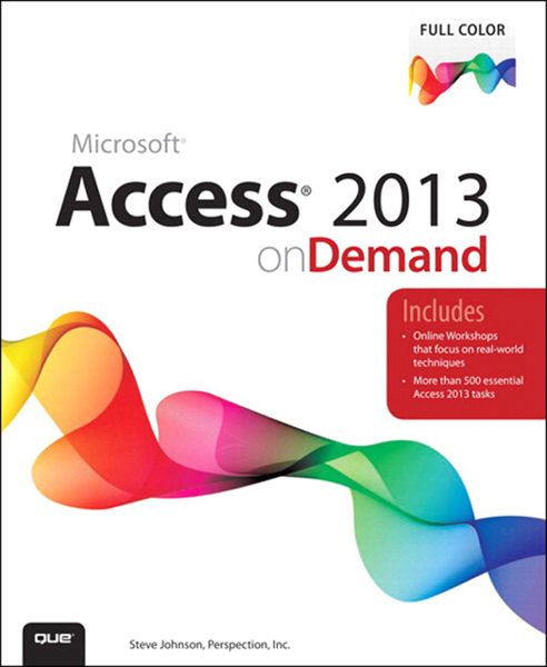 Access 2013 on Demand