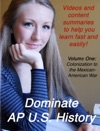 Dominate AP US History Volume One Colonization To The Mexican American War