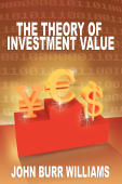 The Theory of Investment Value Book Cover