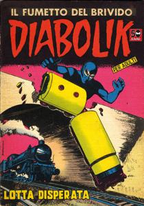 Diabolik #15 Copertina del libro