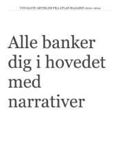 Download and Read Online Alle banker dig i hovedet med  narrativer