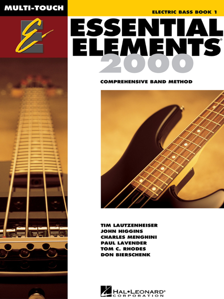 Essential Elements 2000 - Book 1 for Electric Bass (Textbook)