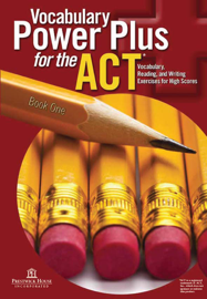 Vocabulary Power Plus for the ACT - Book One book