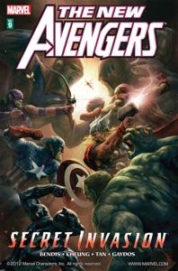 The New Avengers, Vol. 9: Secret Invasion, Book 2 Book Cover