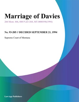 ‎Marriage of Davies