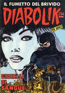 Diabolik #20 Copertina del libro