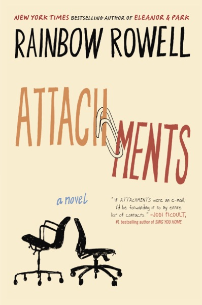 Attachments - Rainbow Rowell book cover
