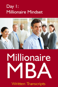 Millionaire MBA Day 1: Millionaire Mindset Book Review